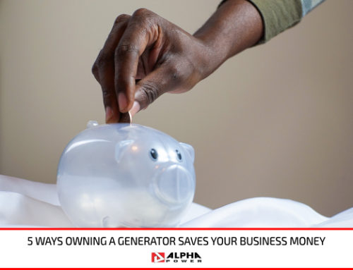 5 Ways Owning a Generator Saves Your Business Money